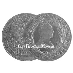20 Kreuzer Argent Autriche 1754-1780 - Marie-Thérèse d'Autriche
