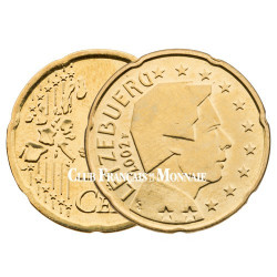2002 - LUXEMBOURG - 20 CENT