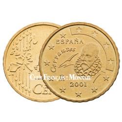 2001 - ESPAGNE - 10 CENT
