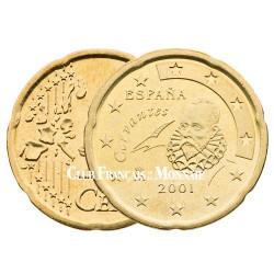 2001 - ESPAGNE - 20 CENT