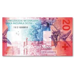 Billet 20 Francs Suisse 2017 - Hybride