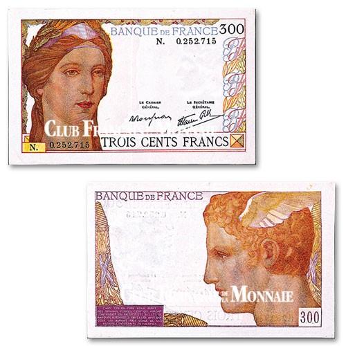 Billet 300 Francs Céres TB