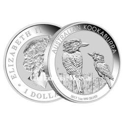 1 Dollar Argent Australie BU 2017 - Kookaburra
