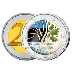 2 Euro Estonie 2017 - Vers l'indépendance