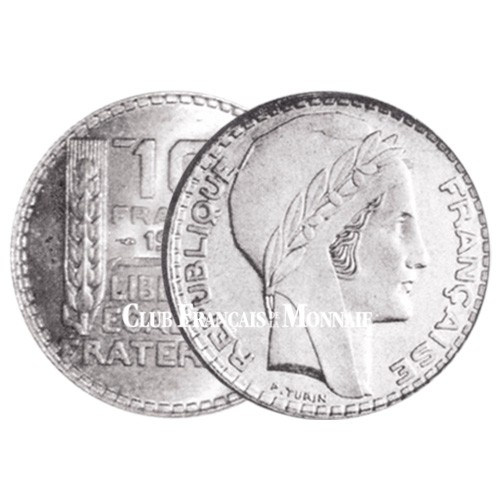 10 Francs Argent - Turin 1930