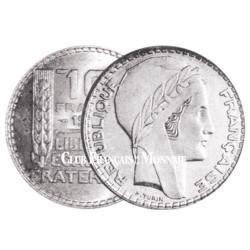 10 Francs Argent - Turin 1938