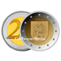 2 Euro Lettonie 2017 - Latgale