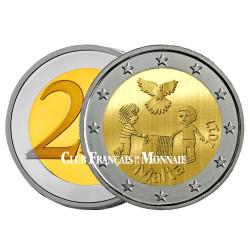 2 Euro Malte 2017 - Paix