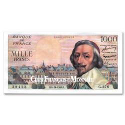 Billet 1000 Francs Richelieu