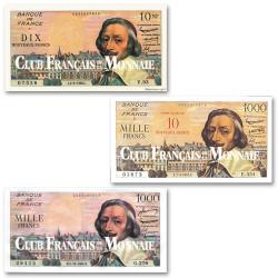 Lot des 3 billets Richelieu