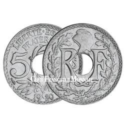 5 centimes Lindauer - Petit module 1920-1938