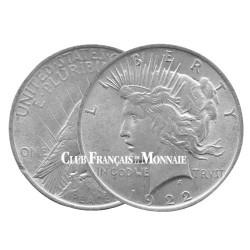 """1 Dollar USA Argent - """"Peace Dollar"""" 1921-1923"""