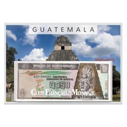 Lot 7 billets Guatemala 1998-2007
