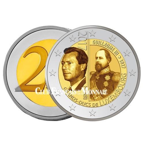 2 Euro Luxembourg 2017 - 200 ans de la naissance du Grand-Duc  Guillaume III