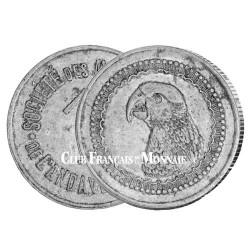 1 Francs Madagascar 1920 Perroquet - Mines d'Or d'Andavakoera