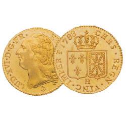 1754-1793 - France - Double Louis d'Or Louis XVI Tête nue