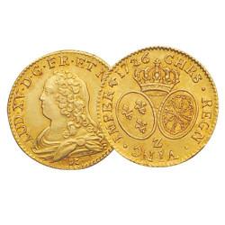 1710-1774 - France - Écu d'Or aux Lunettes Louis XV