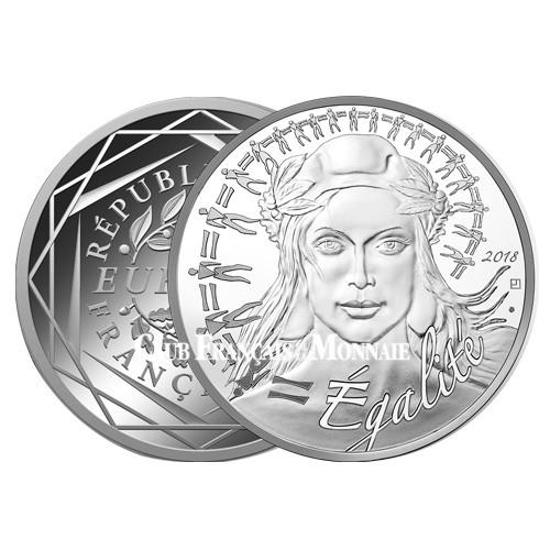 20 Euro Argent Marianne 2018 Egalité