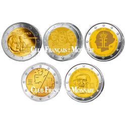 Le lot des 10 x 2 Euro 2012