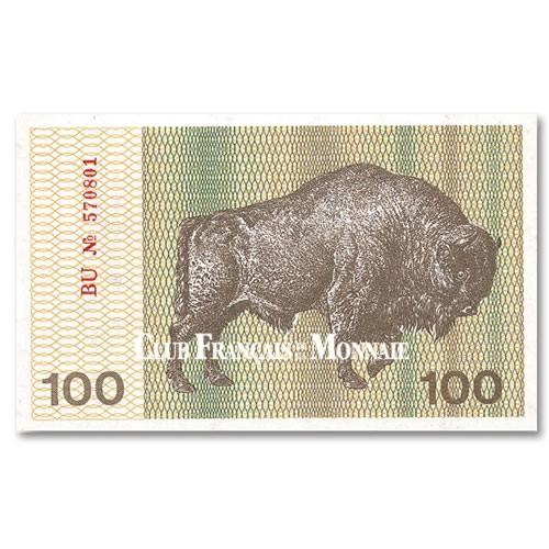 100 Talonas Lituanie 1991