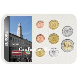 Série Lettonie Pré Euro