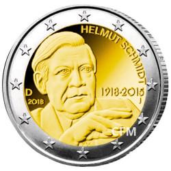 2 Euro Allemagne 2018
