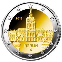 2 Euro Allemagne 2018 - Château de Charlottenburg