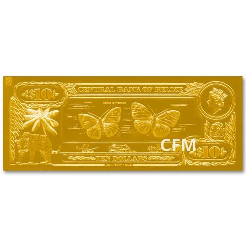 10 Dollars Belize 1984 - Papillons