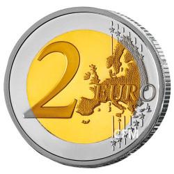 2 Euro Slovaquie 2018 - 25 ans de la République