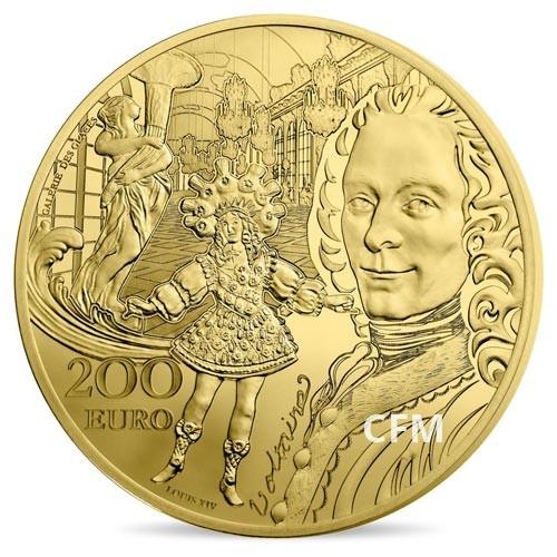 200 Euro Or France BE 2018 - Europa Star : l'époque Baroque et Rococco