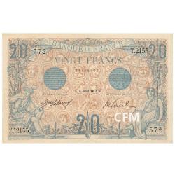 20 Francs Bleu Type 1905