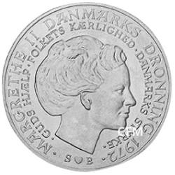 10 Kroner Argent Danemark 1967-1972 - Margrethe II et Frederik IX