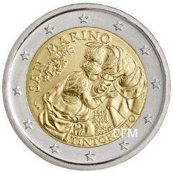 2 Euro Saint-Marin BU 2018 - 500 ans de la naissance de Tintoret