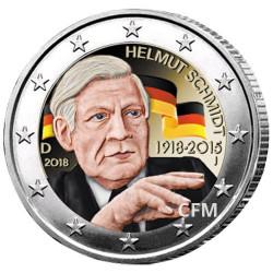 2 Euro Allemagne 2018 - Helmut Schmidt