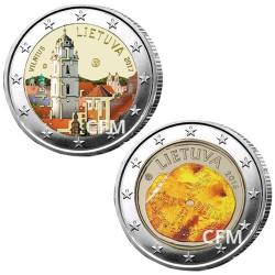 Lot des 2 x 2 Euro Lituanie 2017/2016