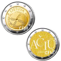 Lot des 2 x 2 Euro Lituanie