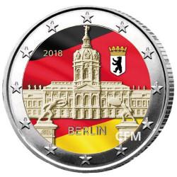 2 Euro Allemagne 2018 Château de Charlottenburg