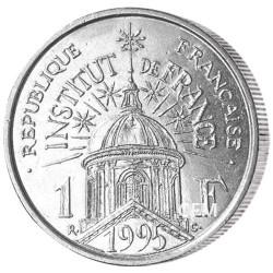 1995 - 1 Franc Vème République - Institut de France