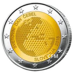 2 Euro Slovénie 2018 - Journée mondiale des abeilles