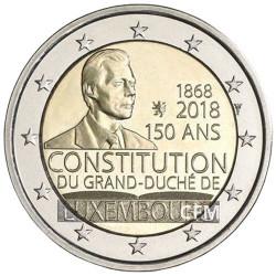 2 Euro Luxembourg 2018 - 150 ans de la constitution