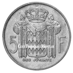 5F Argent Monaco - Rainier III