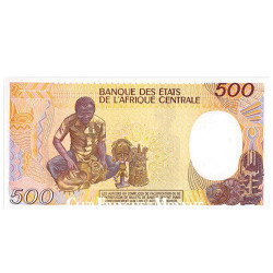 500 Francs République Centrafricaine