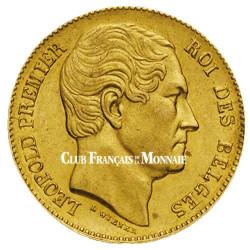 20 Francs Or Belgique 1865-1866 - Léopold 1er