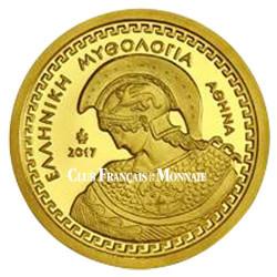 100 Euro Or Grèce BE 2017 - Athéna