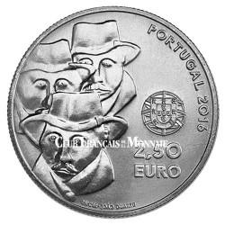 2,50 Euro Portugal 2016 UNESCO - Le chant de l'Alentejo
