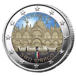 2 Euro Italie 2017 - 400 ans de la basilique Saint-Marc