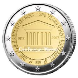 2 Euro Belgique BU 2017 - 200 ans de l'Université de Gand
