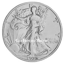 1/2 Dollars Argent USA - Liberty Walking