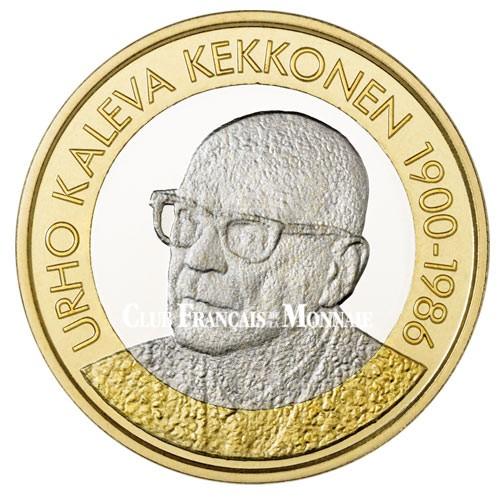 5 Euro Finlande 2017 - Président Finlandais - U. K. Kekkonen
