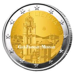 2 Euro Lituanie 2017 Vilnius - Capitale artistique et culturelle